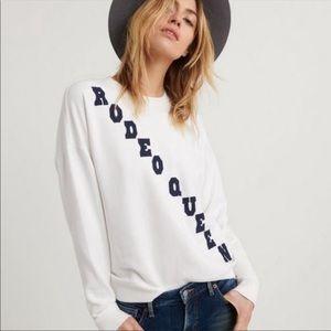 NWT LUCKY BRAND | Rodeo Queen Sweatshirt Sz. L